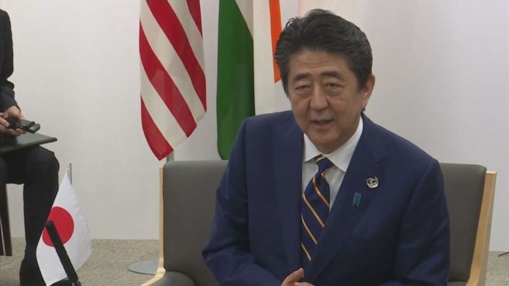 Japanese PM Shinzo Abe resigns