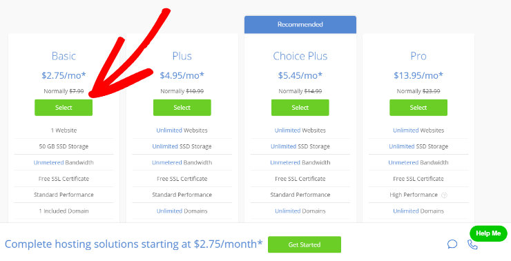 Benefits of Bluehost Monthly Plan Payment Plans