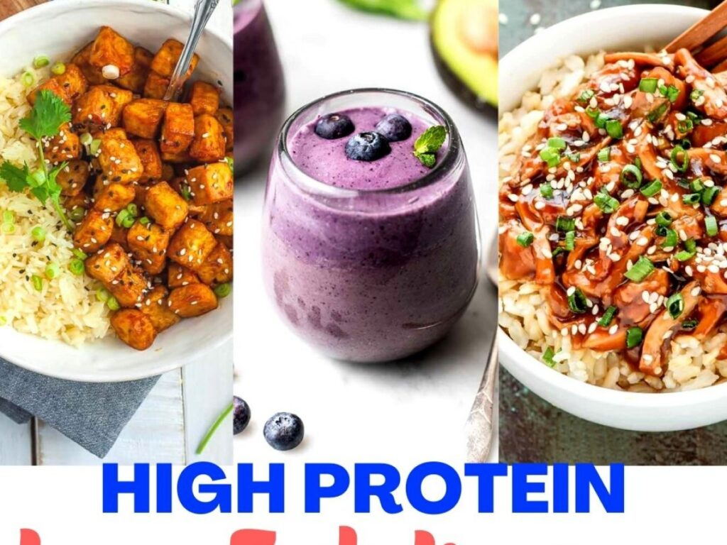 Easy High Protein Meals