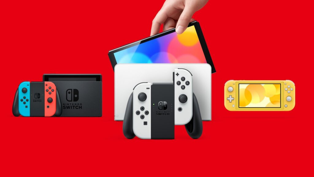 Nintendo OLED VS Lite VS Original Switch Buy through the screen