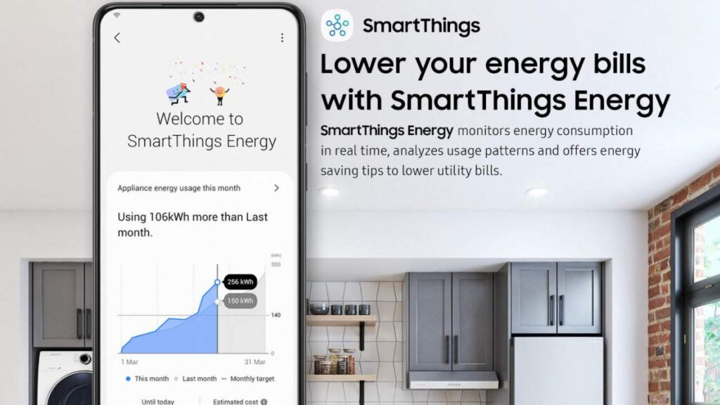 Samsung SmartThings Energy can monitor your energy consumption