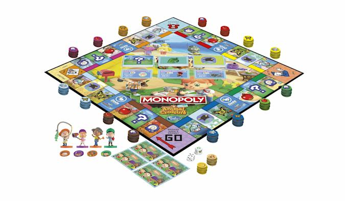 The Monopoly Animal Crossing Edition arrives in August