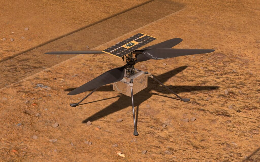 This is why Mars Helicopters Ingenuitas NASA is a friend