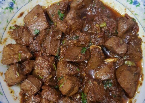 recipe of kaleji